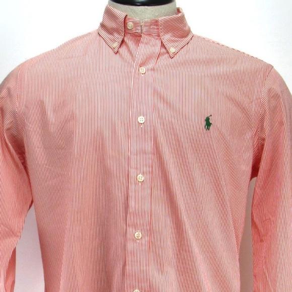 Ralph Lauren Other - Ralph Lauren Needle Stripe Dress Shirt - Sz M